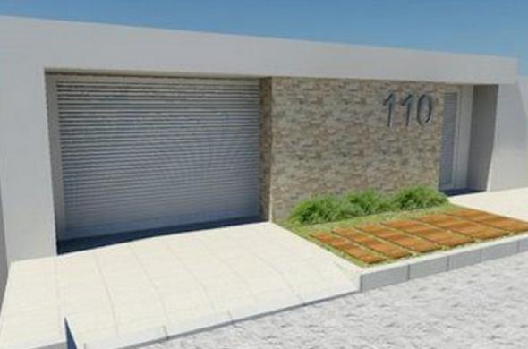 25-Frente de casas com muros exemplos bonitos