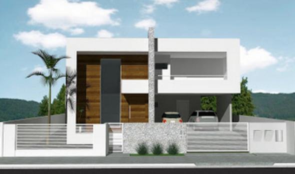 27-Frente de casas com muros exemplos bonitos