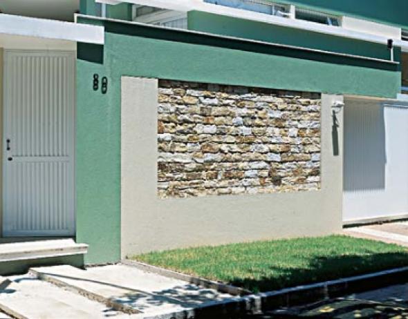 28-Frente de casas com muros exemplos bonitos