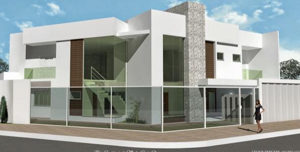 32-Frente de casas com muros exemplos bonitos