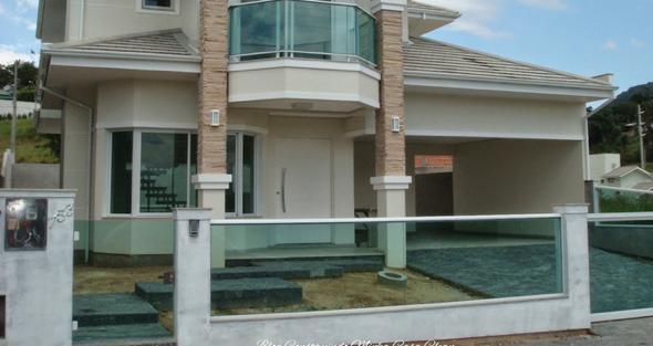 33-Frente de casas com muros exemplos bonitos