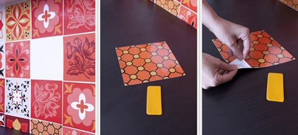 Como fazer adesivo de azulejo 11