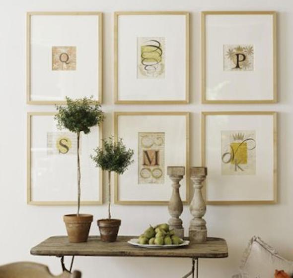 Conjunto de quadros para decoração15
