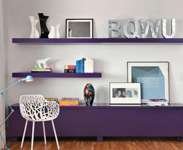 Móveis coloridos para sala1