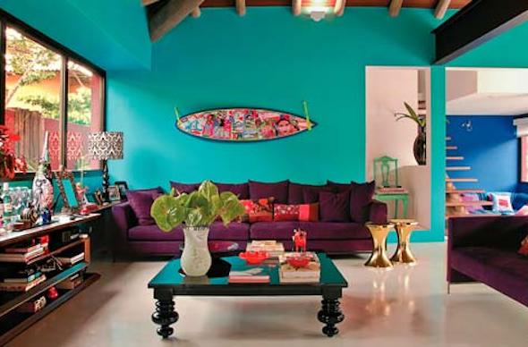 Móveis coloridos para sala12