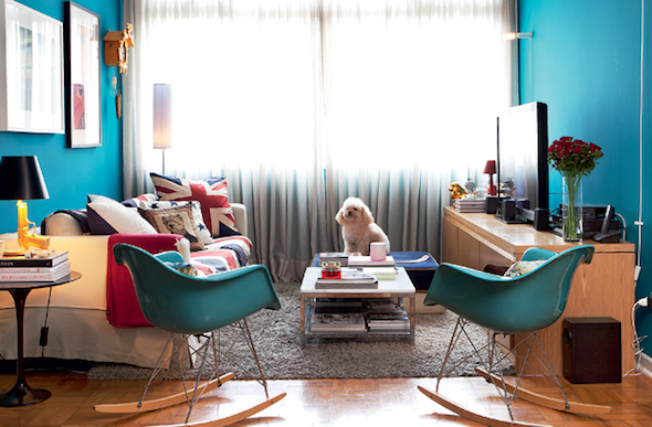 Móveis coloridos para sala13