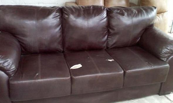 Tecido do sofá descascando como evitar 2