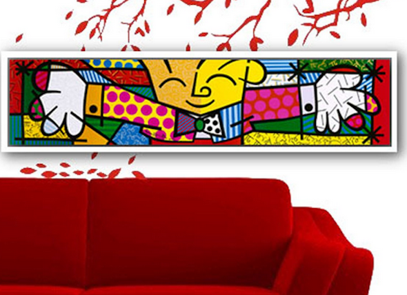 decoracao estilo romero britto