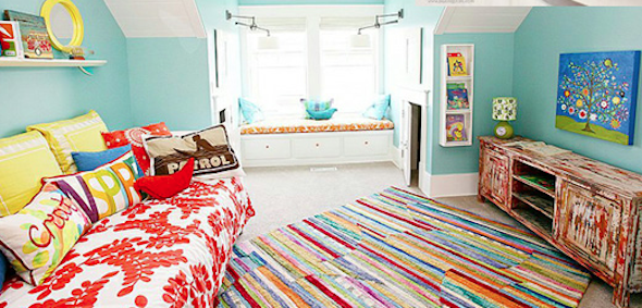tapete colorido na decoracao5