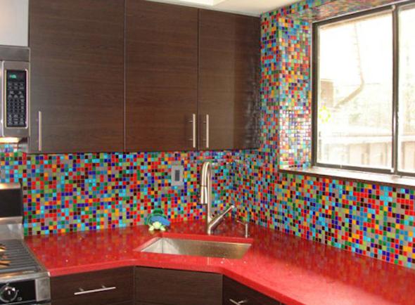 cozinhas multicoloridas modelos11