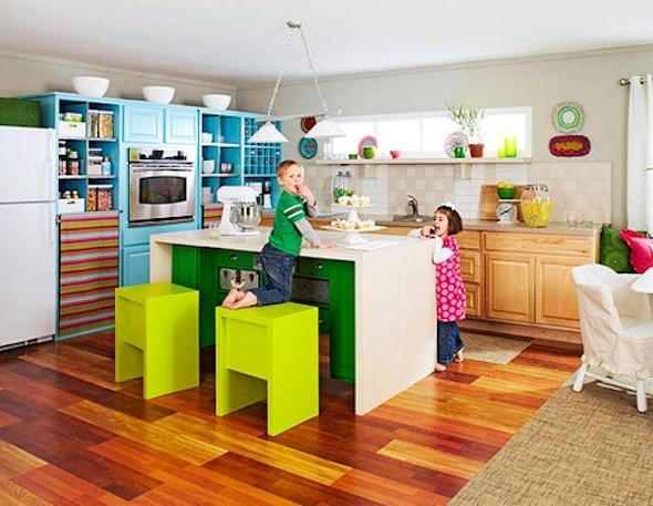 cozinhas multicoloridas modelos16