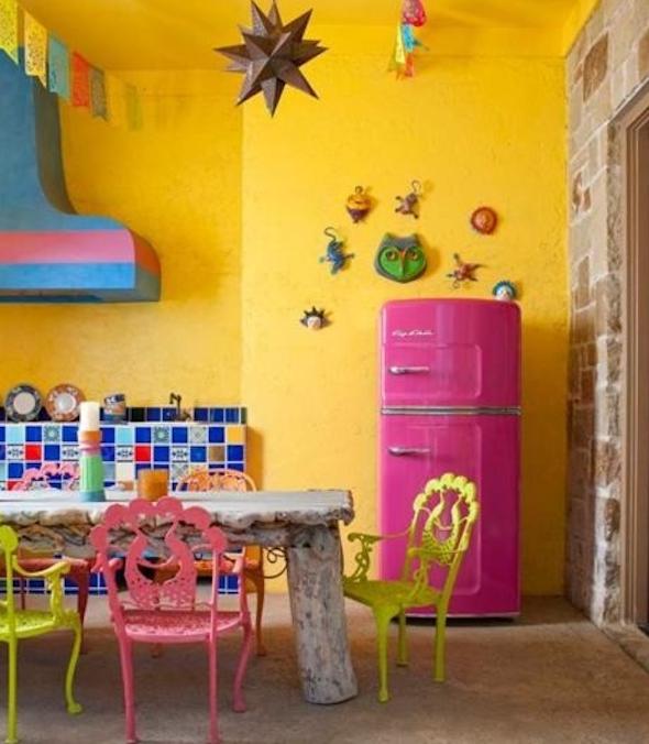 cozinhas multicoloridas modelos18