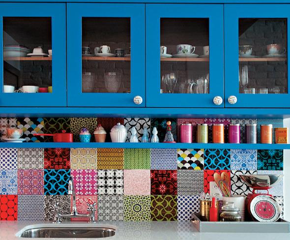cozinhas multicoloridas modelos19
