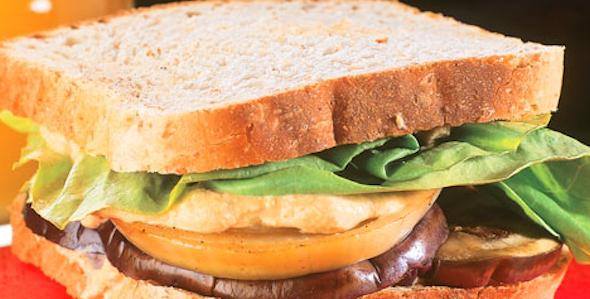 Sanduíche vegetariano 2