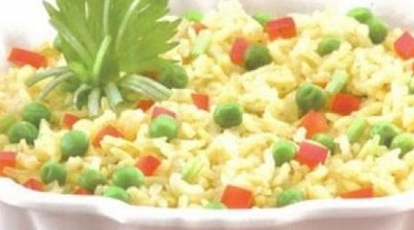 fazer arroz primavera