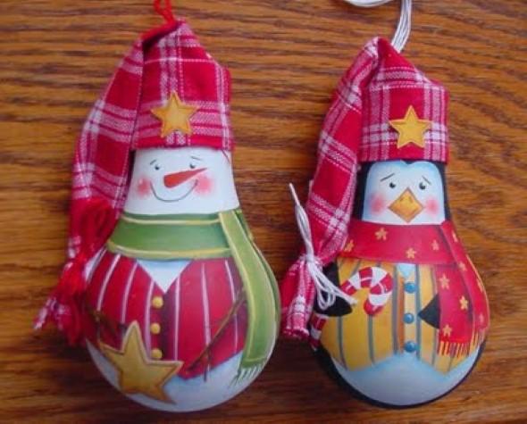 Decoração de Natal com materiais reciclados 003