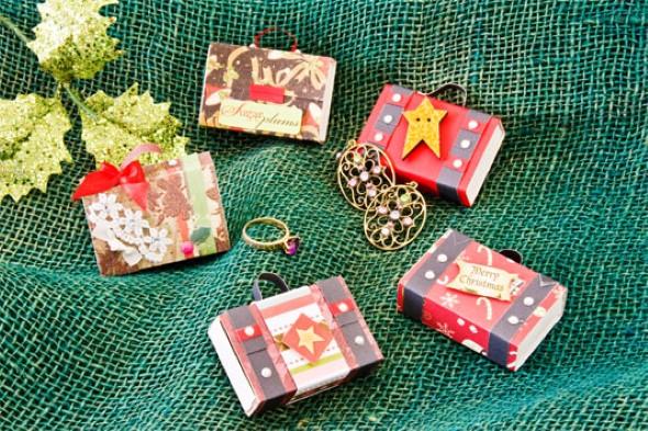 Decoração de Natal com materiais reciclados 012