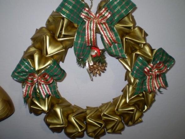Decoração de Natal com materiais reciclados 013