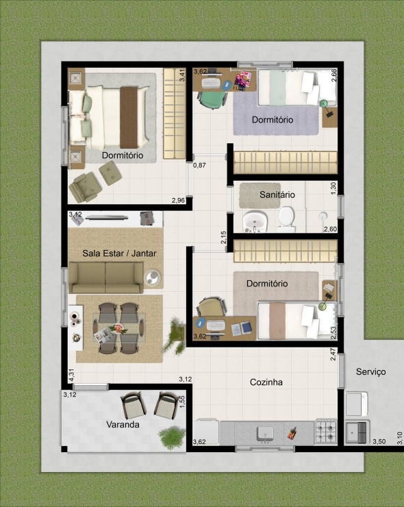 Plantas de casas 2014 013