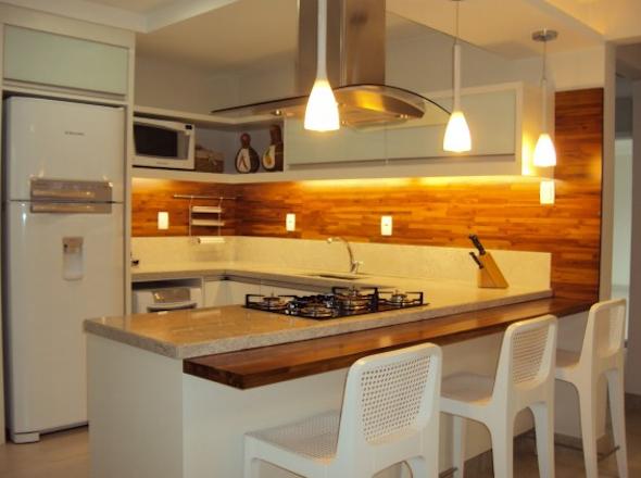 Bancadas de madeira na cozinha2