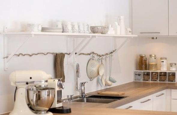 Bancadas de madeira na cozinha8