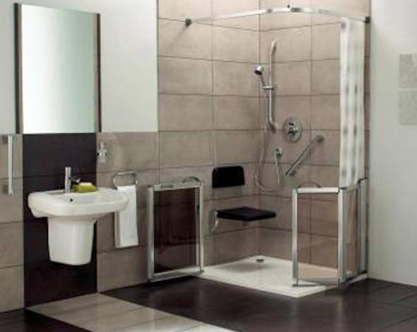 Banheiro adaptado para idosos 6