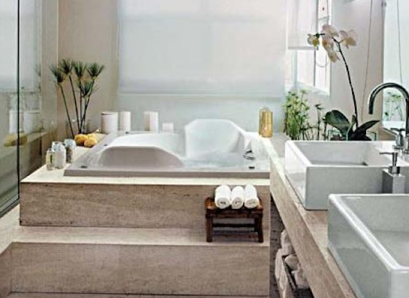 Banheiro de casal como montar e decorar 5