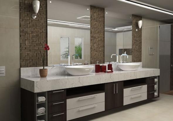 Banheiro de casal como montar e decorar 7