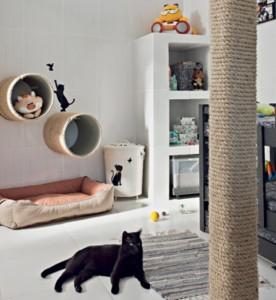 Como montar um quarto para gato 001