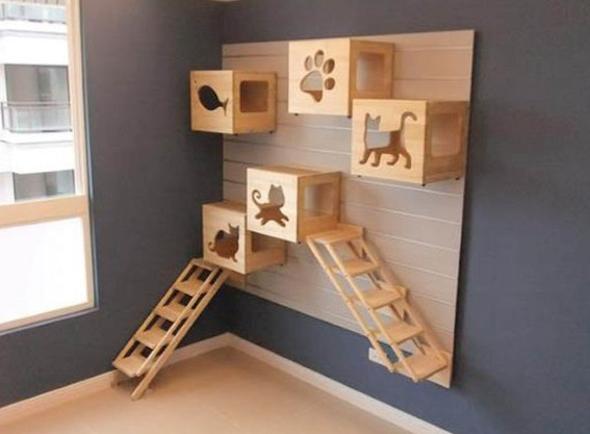 Como montar um quarto para gato 1