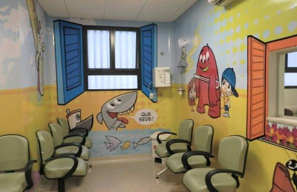 Decoração para clínica pediátrica1