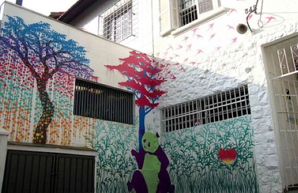 Frente de casas pintadas1