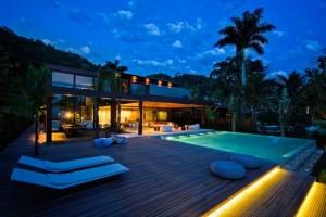 Iluminação para casas de praia 001
