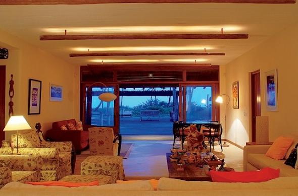Iluminação para casas de praia 10