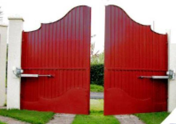 Modelos de portões eletrônicos10