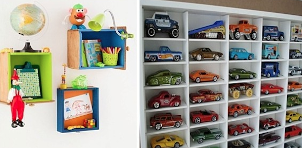 Organizadores para brinquedos de crianças2
