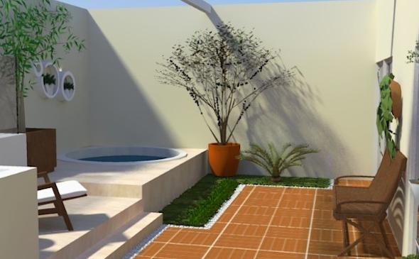 Piscina integrada com a varanda5