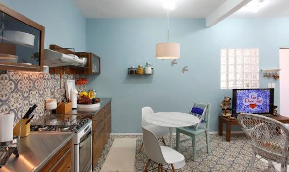 Cozinha integrada com a sala 10