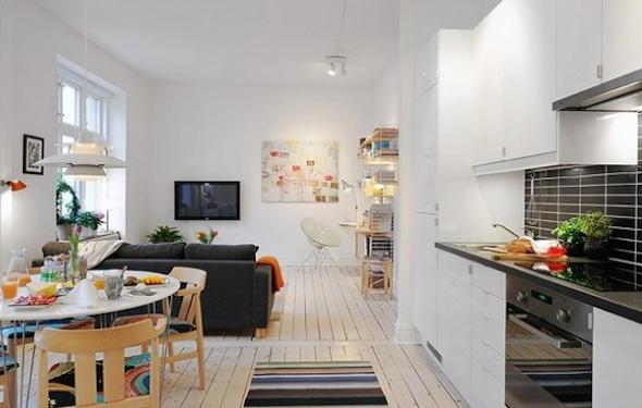 Cozinha integrada com a sala 3