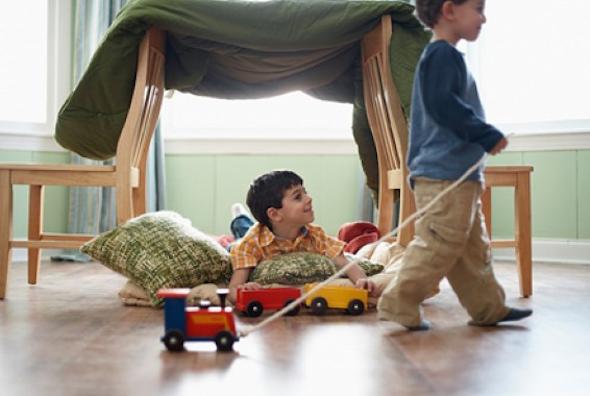 Montar cabana no quarto das crianças 1