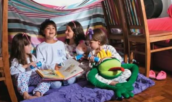 Montar cabana no quarto das crianças 2