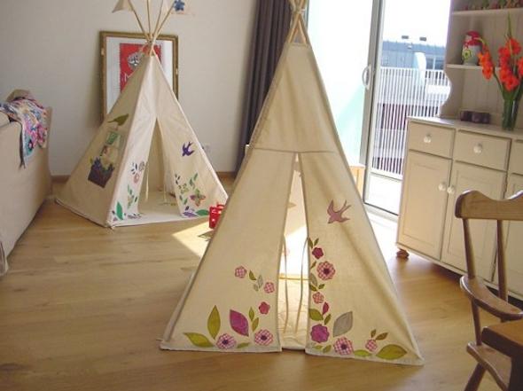 Montar cabana no quarto das crianças 4