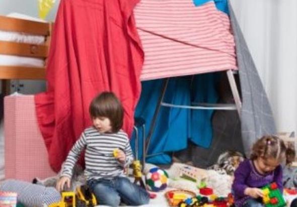 Montar cabana no quarto das crianças 7