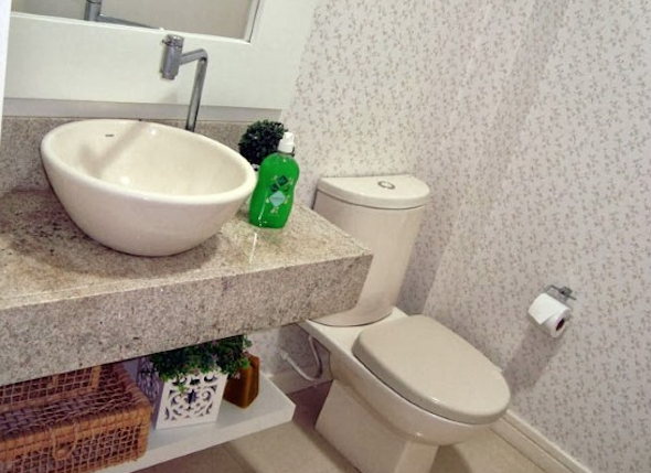 Montar e decorar lavabo social 6