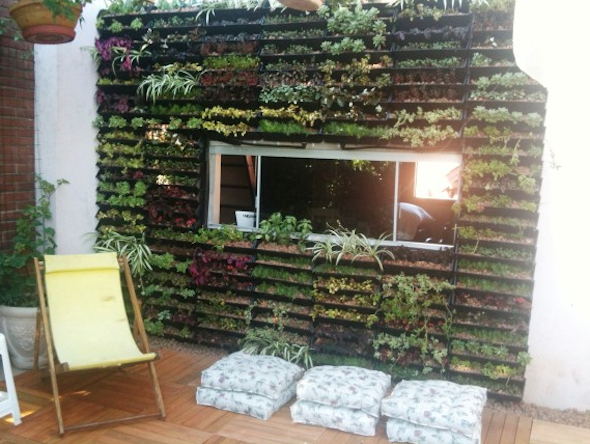 Montar um jardim vertical4