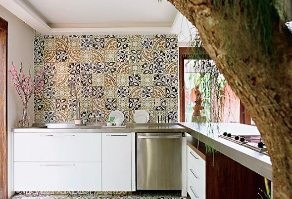 Mosaico de azulejo como usá-lo em sua casa4