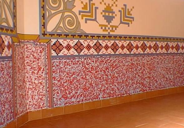 Mosaico de azulejo como usá-lo em sua casa7