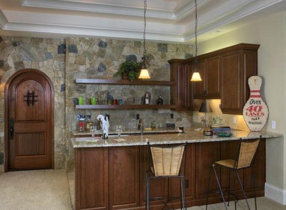 Papel de parede na cozinha 10