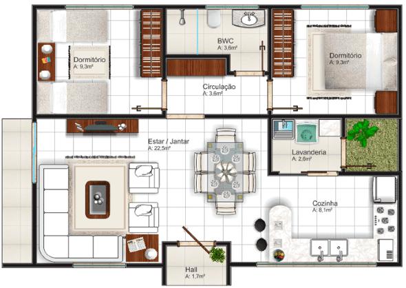 11-plantas_de_casas_com_cozinha_americana
