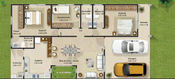17-plantas_de_casas_com_cozinha_americana